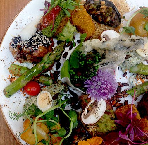 Brighton Restaurant Vegetarian Uk Award Winning Terre A Terre
